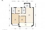 中南漫悦湾中南漫悦湾3居室户型图
